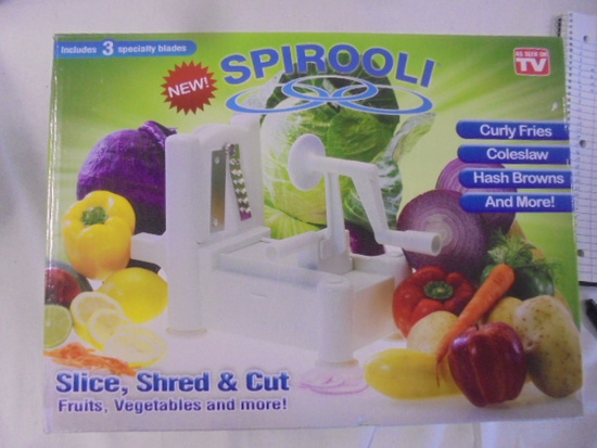 Spirooli (Sliced-Shred-and-Cut)