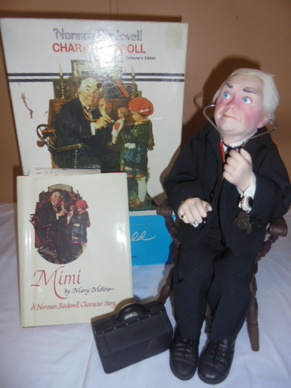 "Norman Rockwell ""Dr. Chrisfield"" Character Doll"