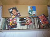 Large Box of Ernie Irvin NASCAR Cards