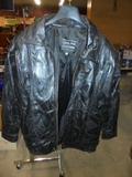 Italian Stone Leather Jacket