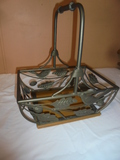 Iron and Wood Basket