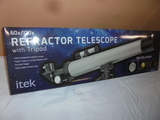 Itek 60 x/120 x Refractor Telescope w/Tri-Pod