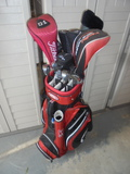 Large Set of Men's Golf Clubs w/ Bags