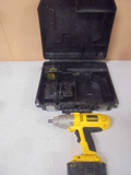 18 Volt Dewalt 1/2 IN Impact w/2 Batteries and Charger