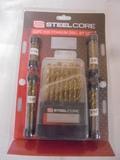 63 Pc. Titanium Drill Bit Set