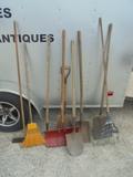 Group of Yard Tools