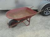 Wheelbarrow w/ Pneumatic Tire