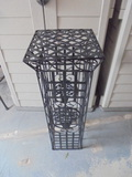 Iron Plant Stand Pedestal