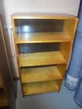 5 Shelf Solid Wood Bookcase
