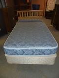 Twin Size Bed Complete W/ Headboard