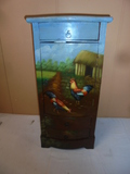 Painted Rooster Cabinet