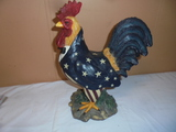 Resin Rooster Statue