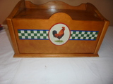 Rooster Bread Box