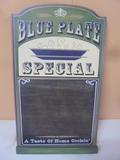 Blue Plate Special Chalkboard