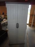 Suncast Resin Vertical 22 cu. ft. Storage Shed