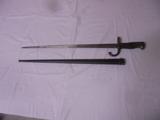 Bayonet w/ Metal Scabboard