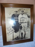 Babe Ruth and Lou Gehrig Framed Picture