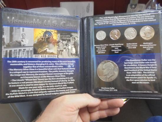 Memorable US Coins Set