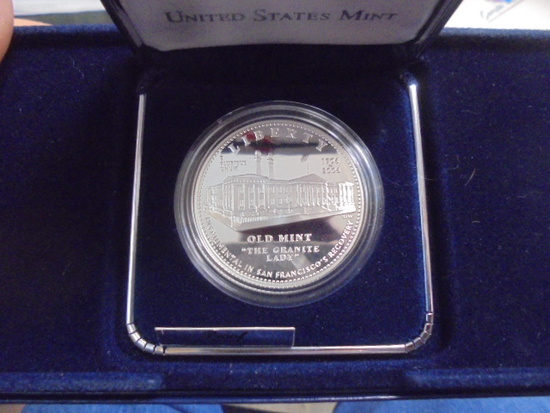 2006 San Francisco Old Mint Proof Silver Dollar