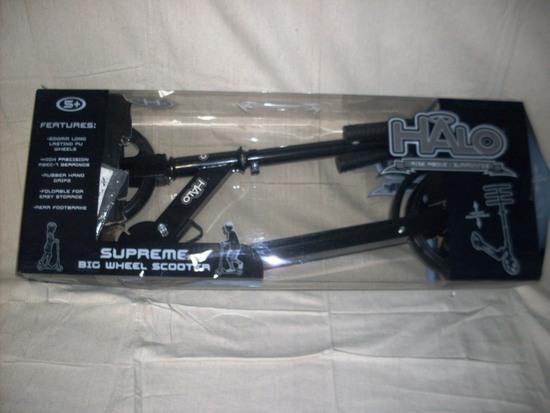 Halo Supreme Big Wheel Scooter