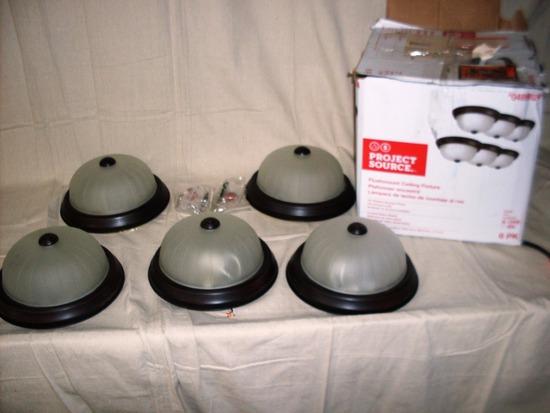 5 Flushmount Light fixtures