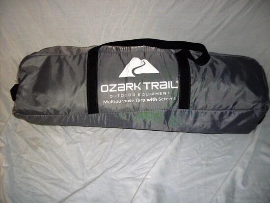 Ozark Trail Tarp with Screens