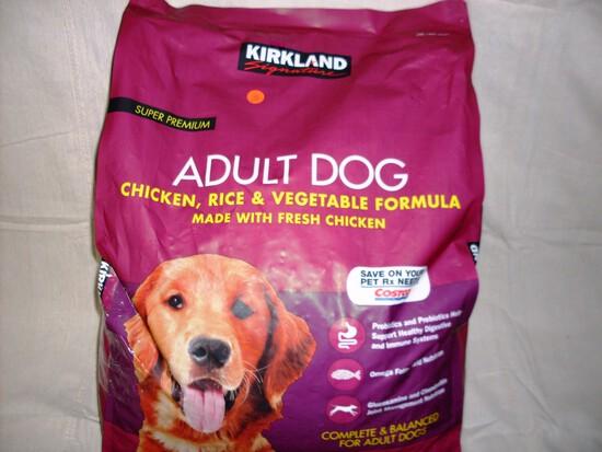 Kirkland Adult Dog Food 40# bag