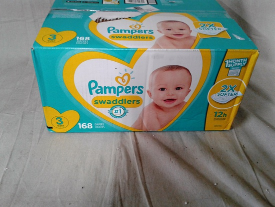 Pampers Swaddlers 168 count