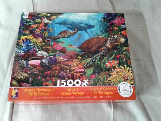 Turtle's Ocean Voyage 1500 Pc Puzzle
