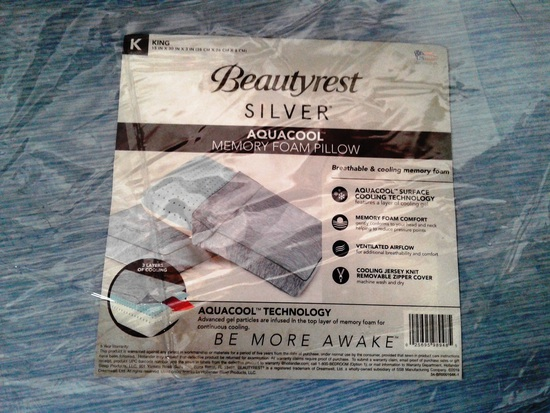 BeautyRest Silver AquaCool Pillow