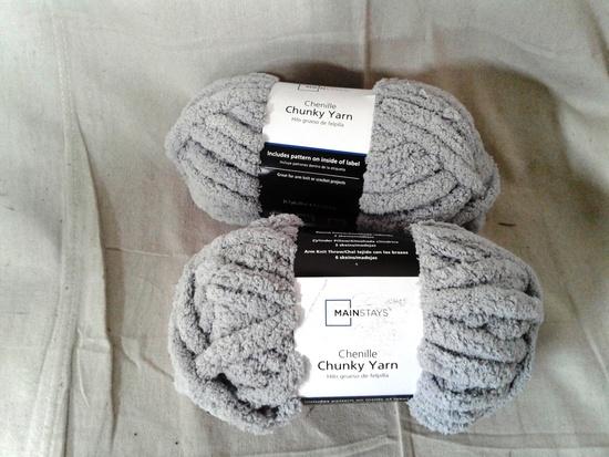 Chenille Chunky Yarn