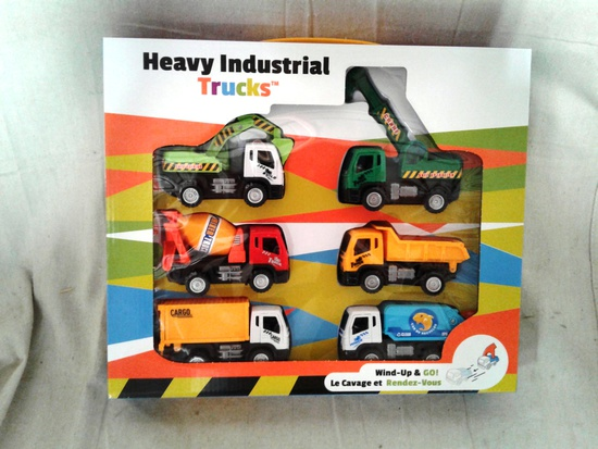Heavy Industrial Toy Truck Set
