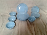 Mainstays Elevated Rim Collection Dinnerware