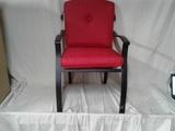Padded Patio Chair (slight shipping damage)