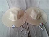 Woven Sun Large Brim Hat