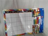 86 piece Bulletin Board Calendar Set