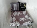 Insulated Elephant Print Curtains