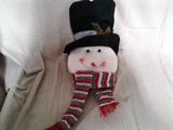 Large Plush Snowman Head
