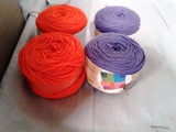 4 Rolls Worsted Yarn