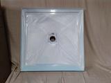 Style Selection 3636 White Center Drain Shower Base