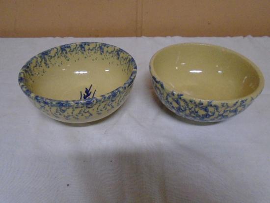 (2) RRP Co Stoneware Bowls