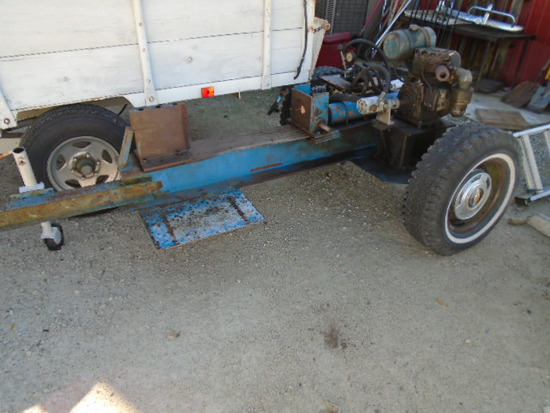Heavy Duty Pull Behind Log Splitter-8HP Wisconsin Motor