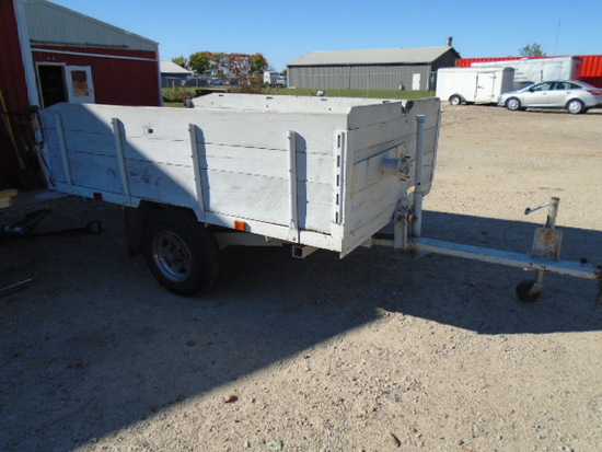 Heavy Duty Tilt Bed Trailer 9'x6'