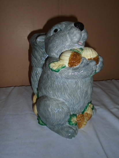 Squirrel Cookie Jar