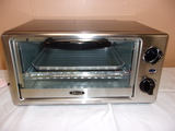 Bella Stainless Steel Front Toaster Oven