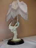 Beautiful Ballerina Lady Lamp