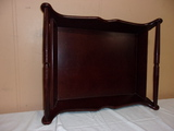 Large Cherry Wooden Serving Tray