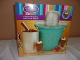 Nostalgia Electrics 4qt Ice Cream Maker