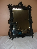 Cast Iron Ornate Framed Wal Mirror