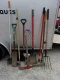 Group of Lawn and Garden Tools